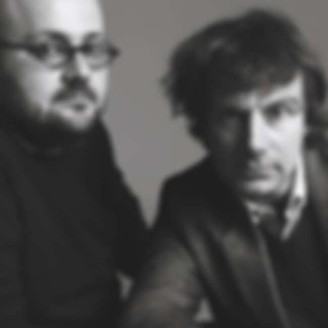 法國設計雙人組M/M Paris 圖右為Mathias Augustyniak