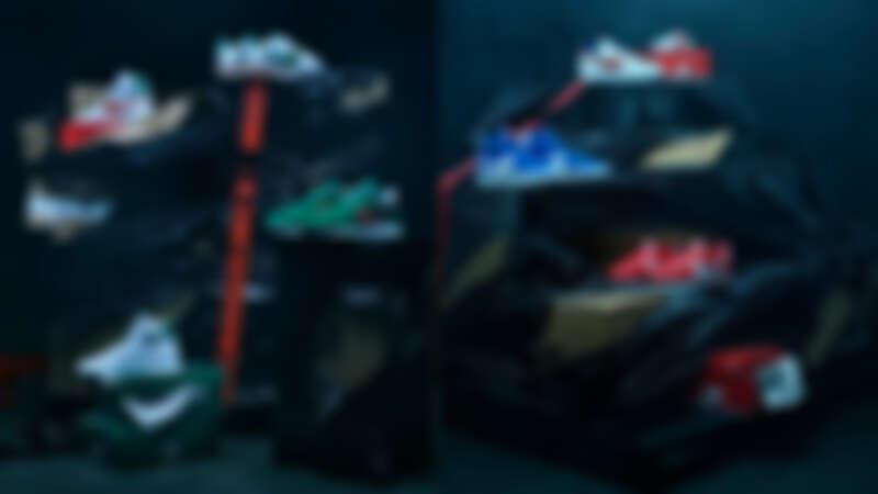 怪奇物語 x Nike 聯名系列