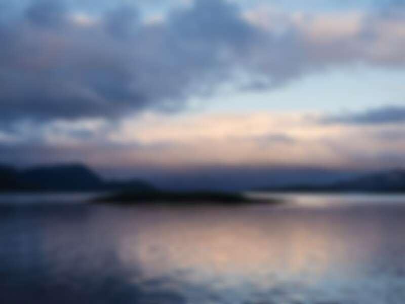 Sandøya島上一隅
