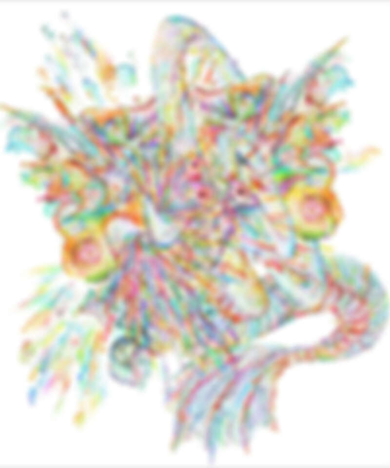 《兩巨蟒爭奪一對美麗的蝴蝶翅膀》(Two Great Snakes Compete for a Pair of Beautiful Butterfly Wings),中國藝術家Wu Jian'An去年受邀為BVLGARI羅馬總店創作的作品,以中國複雜而精細的手工剪紙技術,展現自然界中求生存時經常可見的掙扎與創造力。至於美麗的蝴蝶翅膀在哪?真的要很用心看才找得到啊!