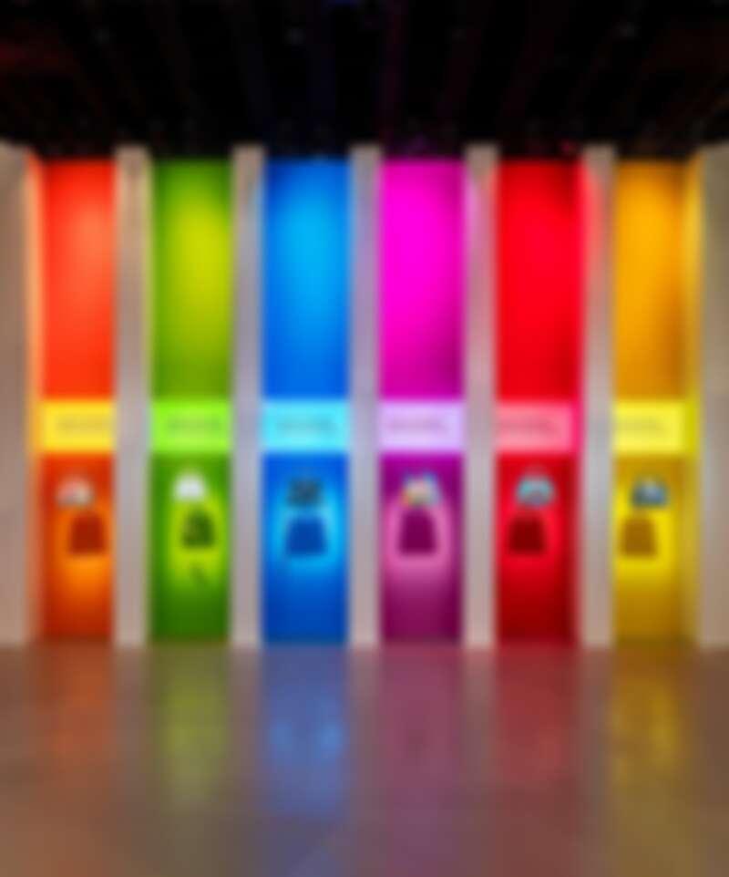 6款artycapucines包的彩虹光譜