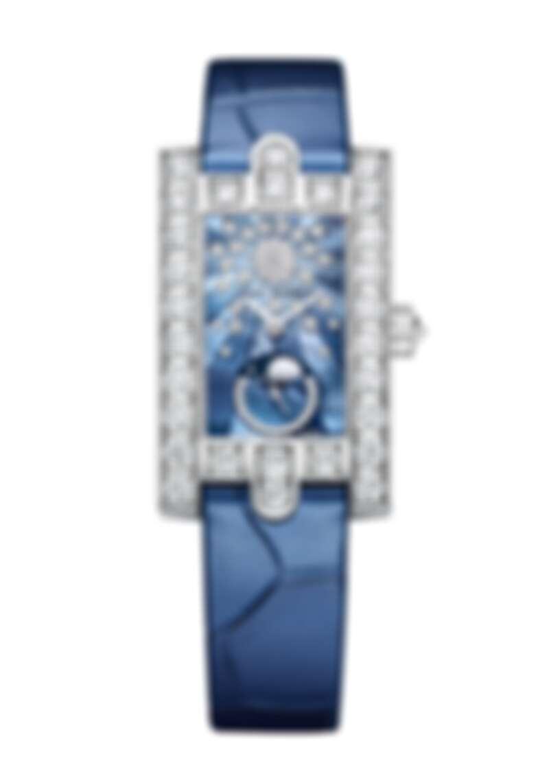 海瑞溫斯頓第五大道 Avenue Classic 系列月相功能腕錶_18K白金