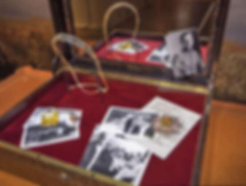 Chanel香奈兒最新頂級珠寶系列《Le Paris Russe de Chanel》在巴黎大皇宮的展覽現場