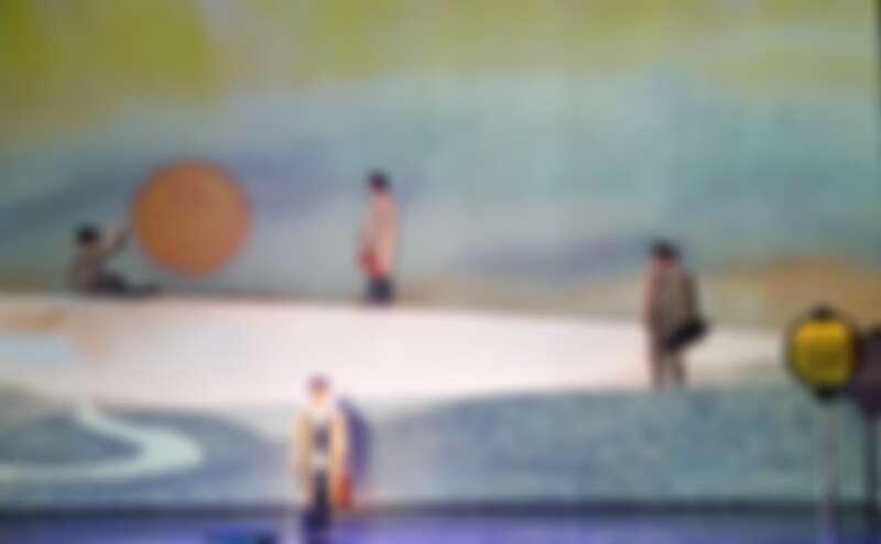 蔡旻佑演出幾米音樂劇《向左走向右走》/人力飛行劇團