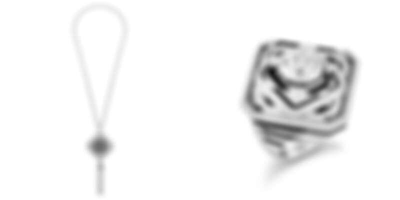 (左)26 V項鍊。(右)26 V指環。