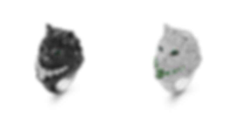 (左)WLADIMIR 1ER指環。(右)WLADIMIR II指環。