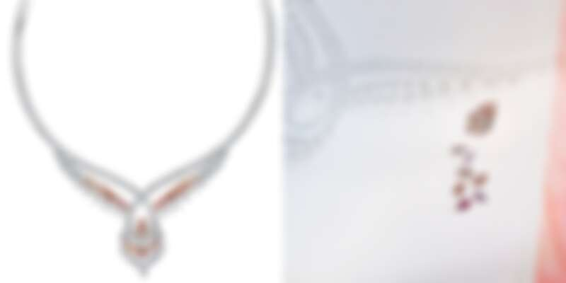 Greater Flamingo 高級珠寶項鍊。