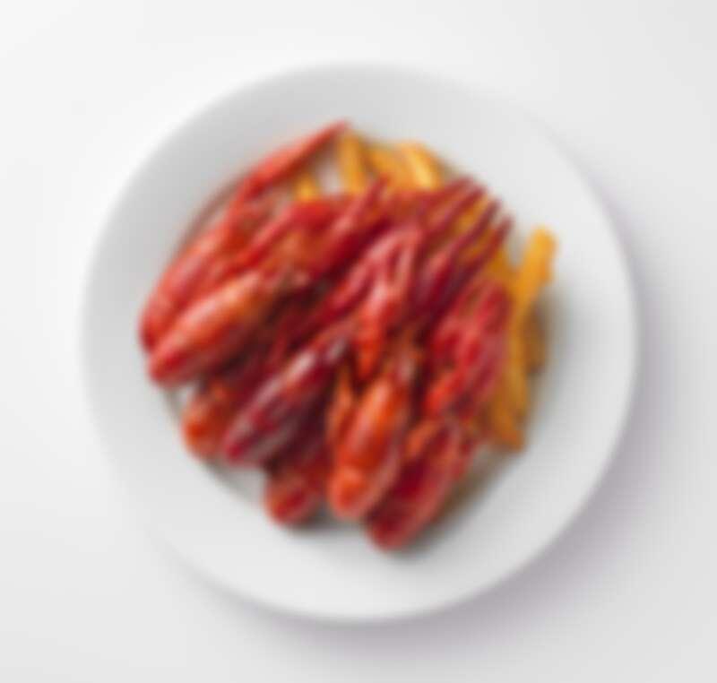 香辣小龍蝦盤,售價299元