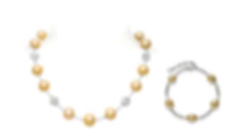 MIKIMOTO DAY & NIGHT系列南洋黃金珍珠項鍊、巴洛克珍珠手鍊