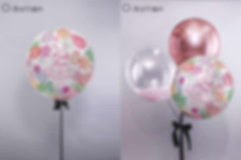 裙襬澎澎RUN X O! Balloon聯名公益氣球 (左)單顆售價$1180 (右)一組售價$2980