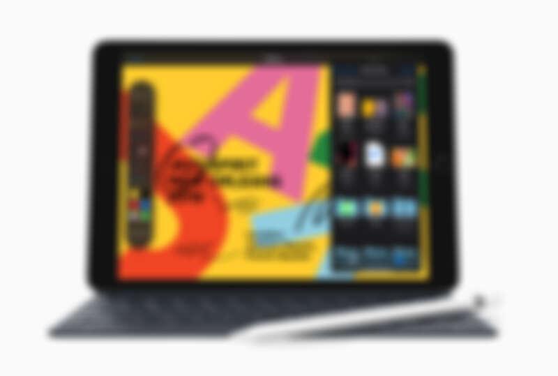 全新iPad可以連接鍵盤,工作更方便。