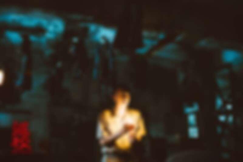 《返校》劇照。上吊人偶的畫面,隱喻白色恐怖時期的真實場景。