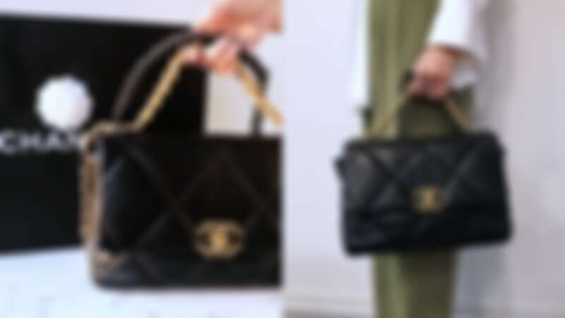 Chanel 19 Bag 皮革款(中型)NT163,000