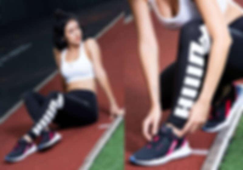 訓練系列PUMA中衝擊運動內衣,NT1,380、基本系列Rebel緊身褲,NT980、Weave XT Shift鞋款,NT2,680。