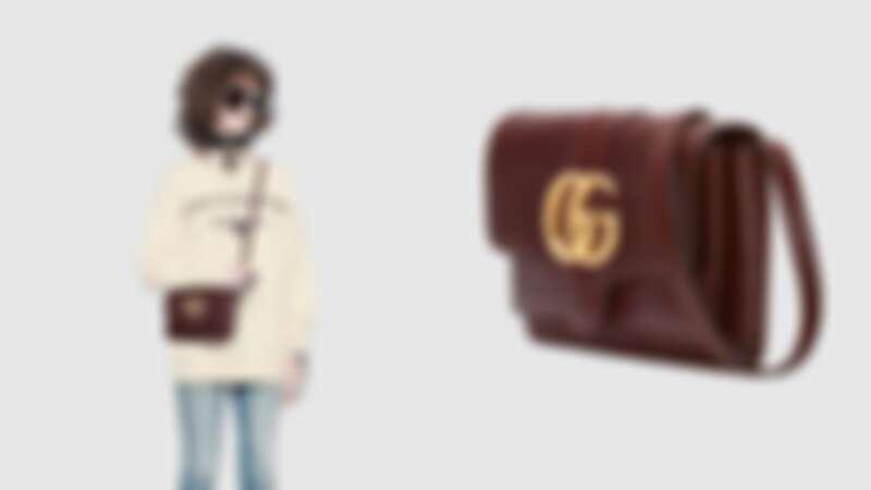 GUCCI Arli復古皮革手袋,NT56,800