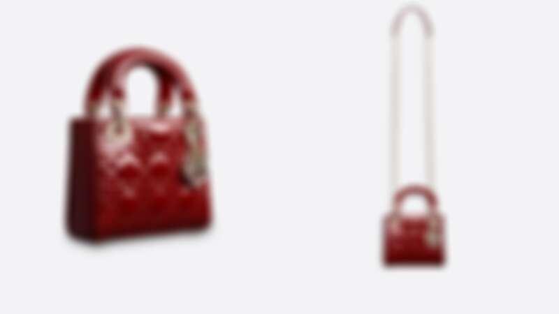 Dior LADY DIOR頂級小牛皮迷你包,NT110,000