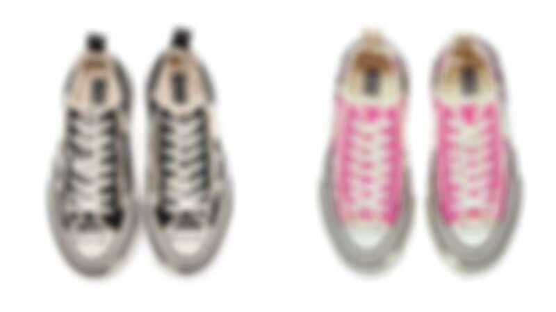 xVESSEL G.O.P. Lows解構帆布鞋,NT7,990(螢光粉、經典黑、帝都黃、海軍藍)