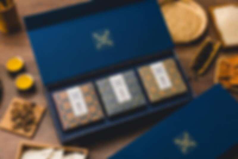 誠品生活expo「台味好禮」期間限定店 大春煉皂 稻埕時光經典禮盒 推薦價900元。