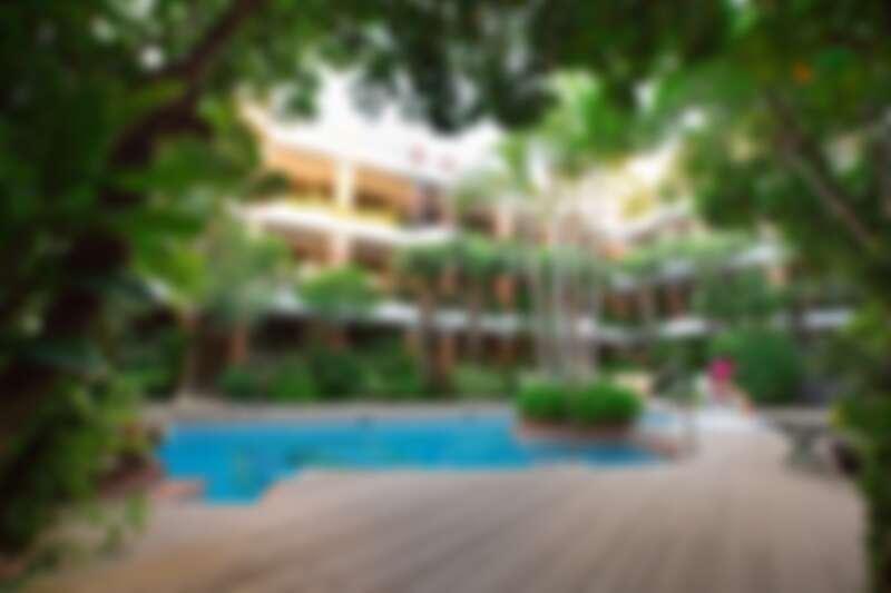 承億文旅墾丁雅客小半島飯店中央為房客專屬泳池
