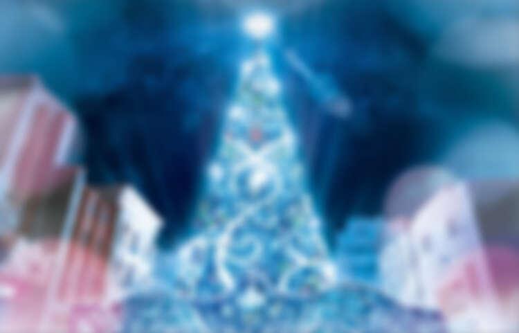 環球水晶聖誕樹