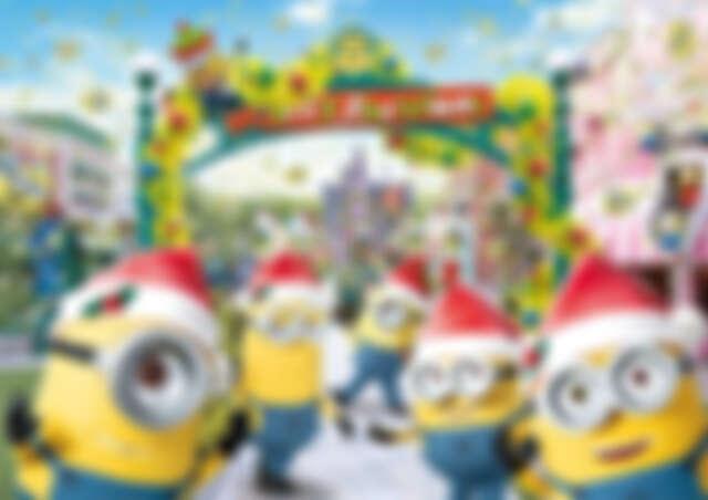小小兵樂園的黃色聖誕節