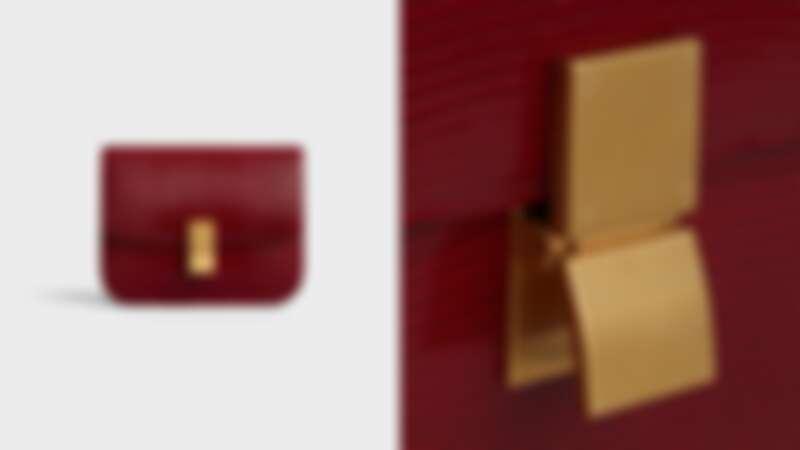 CELINE 蜥蜴皮Classic Bag,NT240,000
