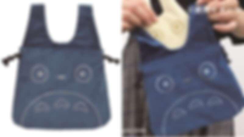 中型燈芯絨束口袋1400日元(約台幣391元)