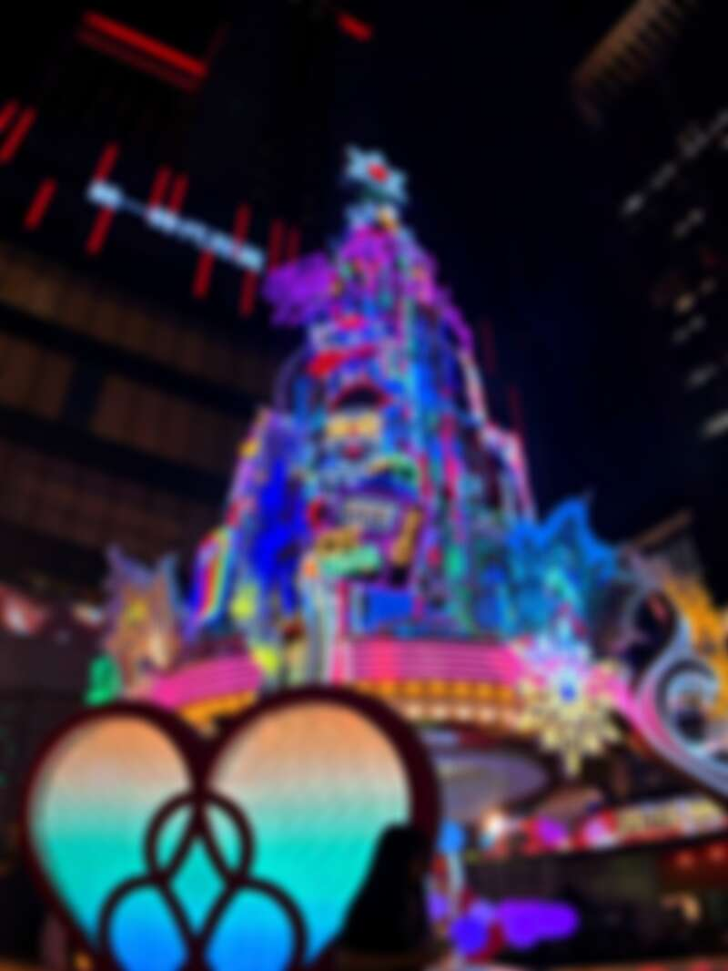 聖誕主樹Purple wish