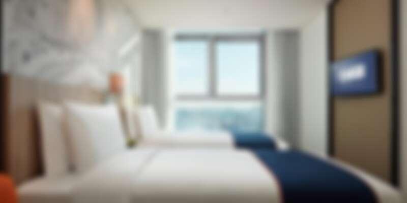 圖片來源:Holiday Inn Express Seoul Hongdae官網