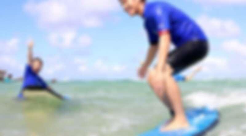 雪梨邦迪海灘衝浪