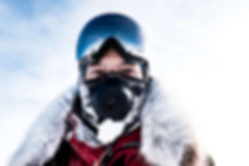 宥勝全副武裝挑戰南極之旅。