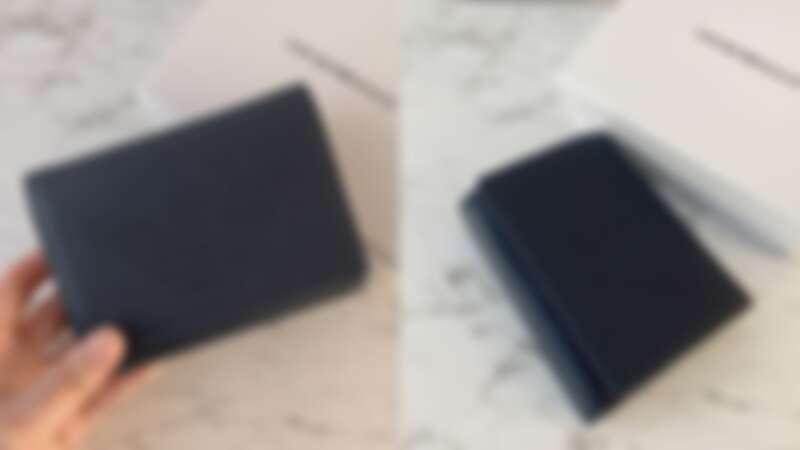 EMPORIO ARMANI皮革中夾,NT7,800