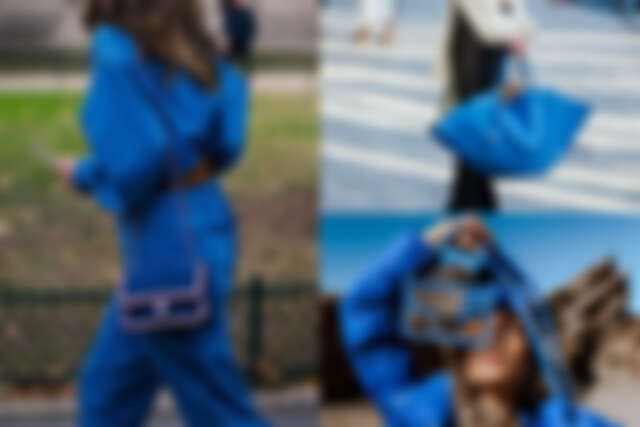 2020 新年為自己挑選一款經典藍的配件吧(圖片來源:Pinterest)