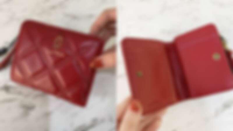 MARC JACOBS 酒紅色Softshot系列皮夾,NT7,690