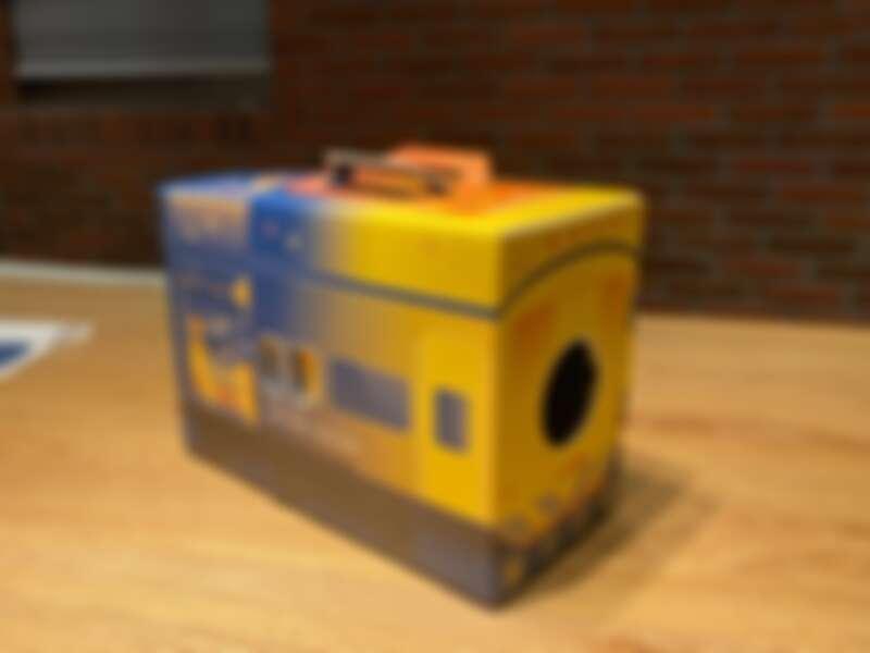 「燈來盛」集集列車創意投影盒