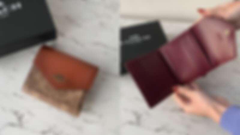 COACH 撞色經典帆布小型皮夾,NT4,900