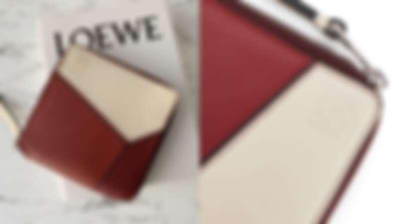 LOEWE Puzzle拼圖拉鍊錢包,NT21,000