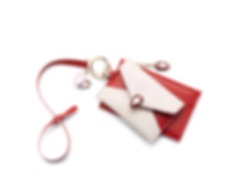 Serpenti Forever情人節限定小牛皮零錢包與卡夾兩件組,NT$23900