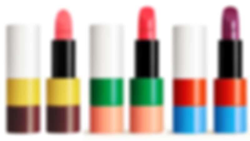 Rouge Hermès唇妝系列,2020年的3款限量收藏版色調。