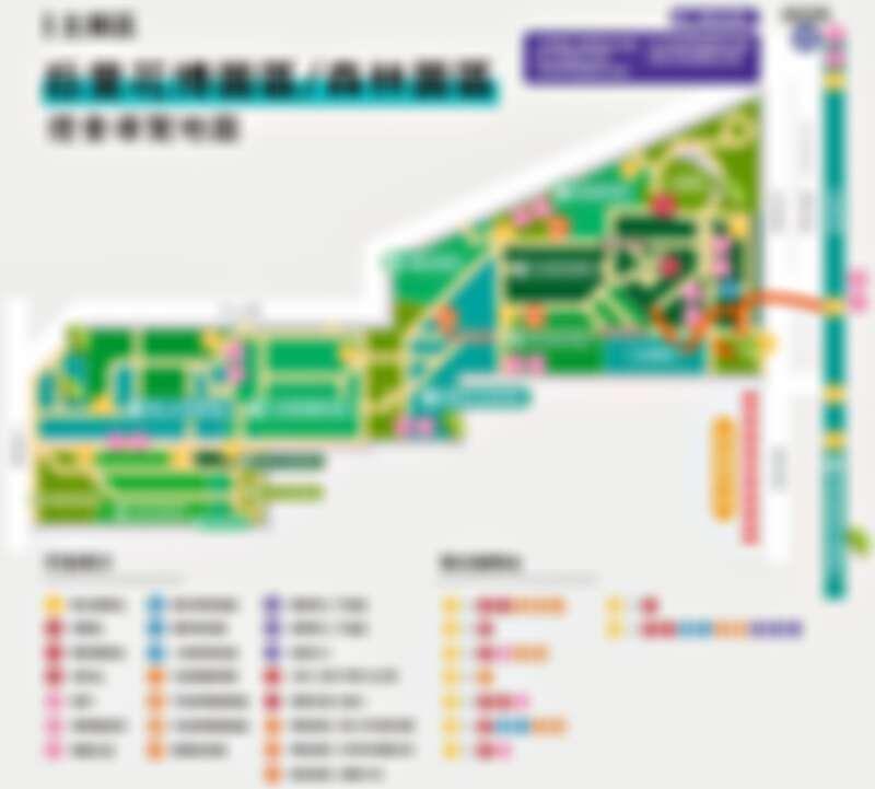 「后里森林園區」導覽地圖