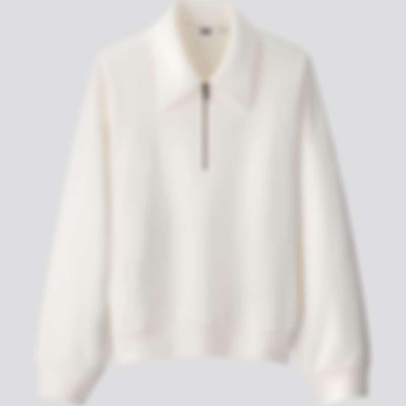 女裝休閒半開襟(長袖)上衣(NT$990)