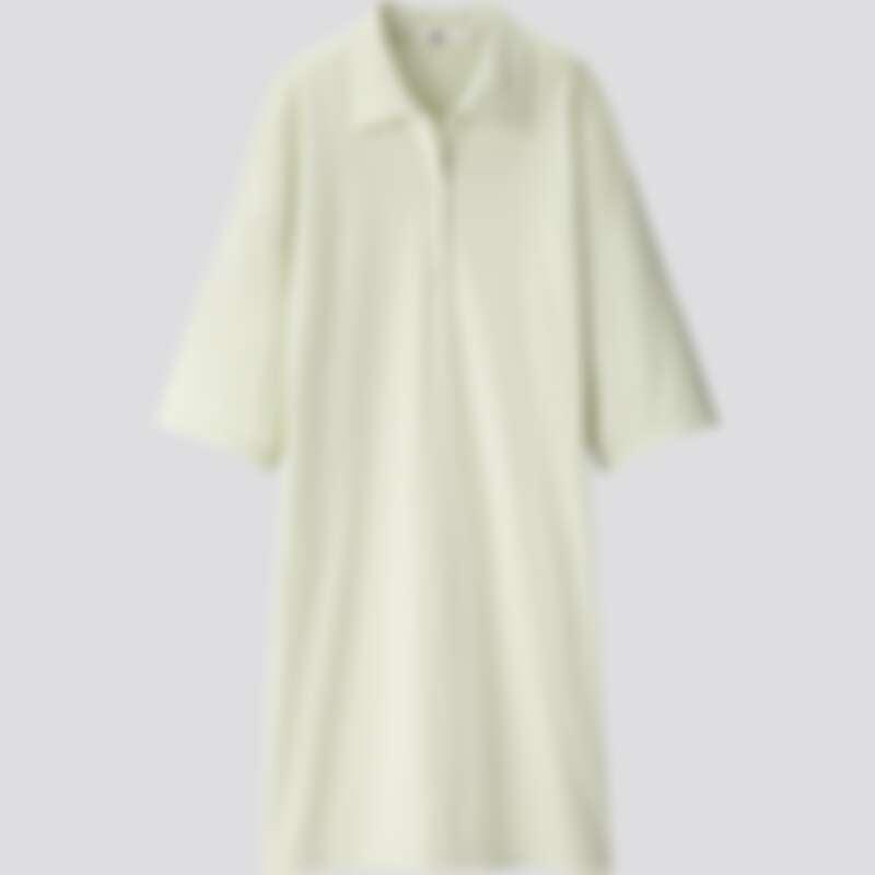 女裝POLO洋裝(五分袖)(NT$1.490)
