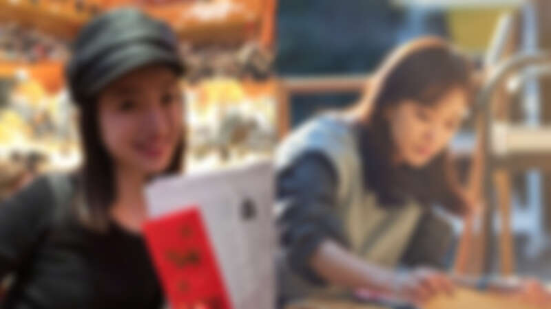 photo/林依晨、陳意涵微博
