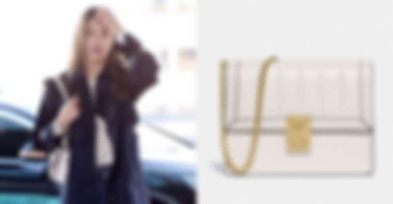 韓團AOA成員雪炫飛往紐約時,背的就是HUTTON。(NT$16,800)