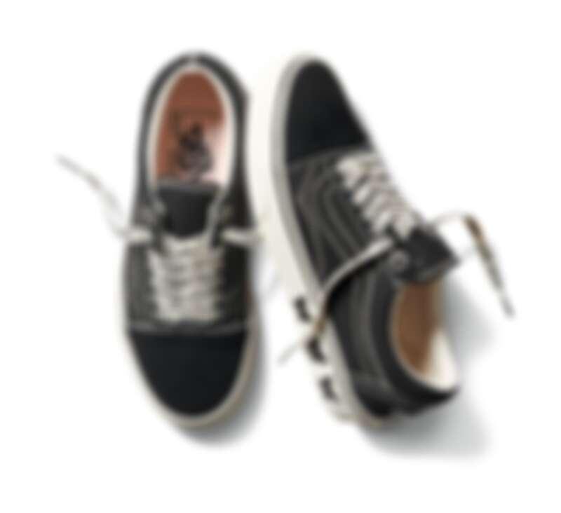 Vans x Sandy Liang聯名系列Old Skool鞋款,定價NT2,580