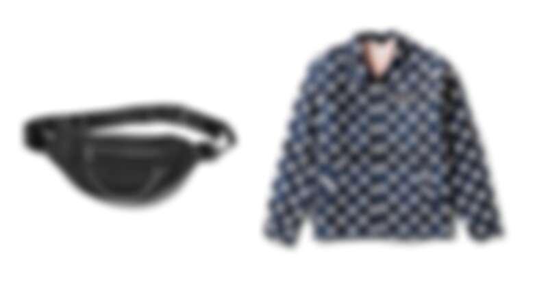 黑色腰包,定價NT1,980、波點外套,定價NT3,480