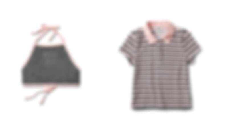 小可愛,定價NT1,480、條紋POLO衫,定價NT2,480