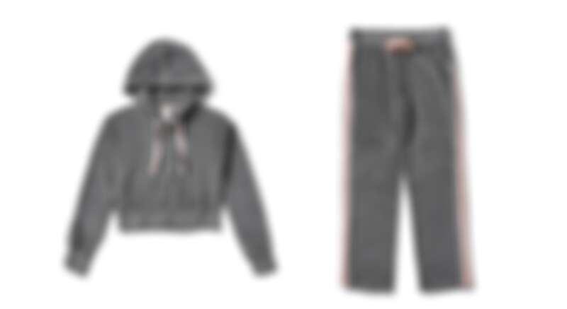 連帽上衣,定價NT2,980、運動長褲,定價NT2,980