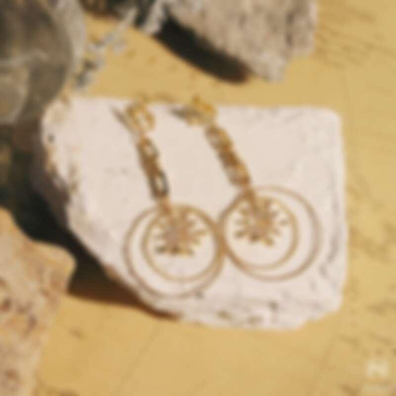 航海人的北極星耳環(NT$3,699)