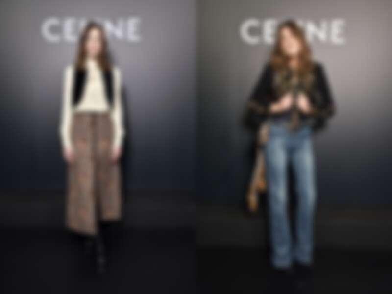 觀秀嘉賓英國時尚部落客Alexa Chuang、法國前第一夫人卡拉布魯尼(Carla Bruni)